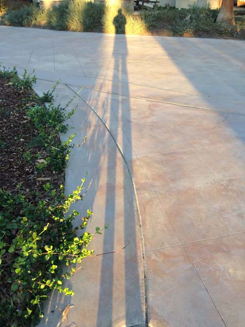 Palm Springs Sunset Shadow